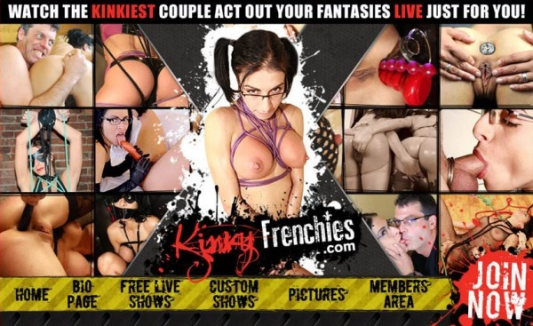 KinkyFrenchies.com - SITERIP