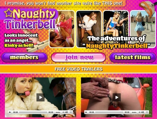 NaughtyTinkerbell.com - SITERIP
