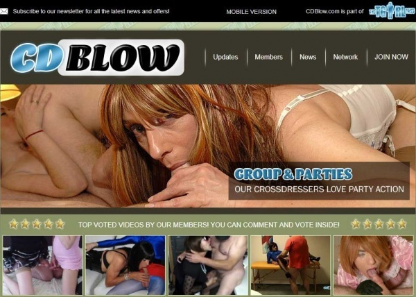 CDBlow.com - TheTGirlPass.com - SITERIP