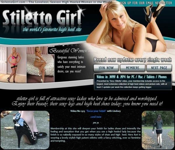 StilettoGirl.com - SITERIP