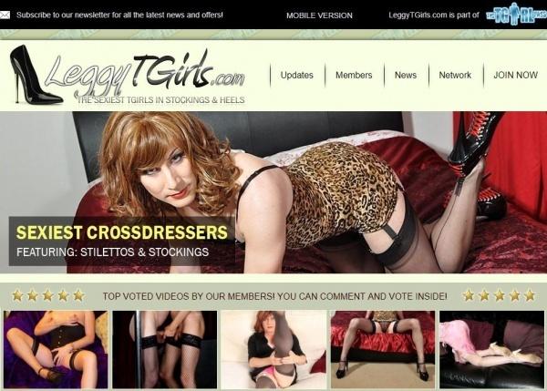 LeggyTGirls.com - TheTGirlPass.com - SITERIP