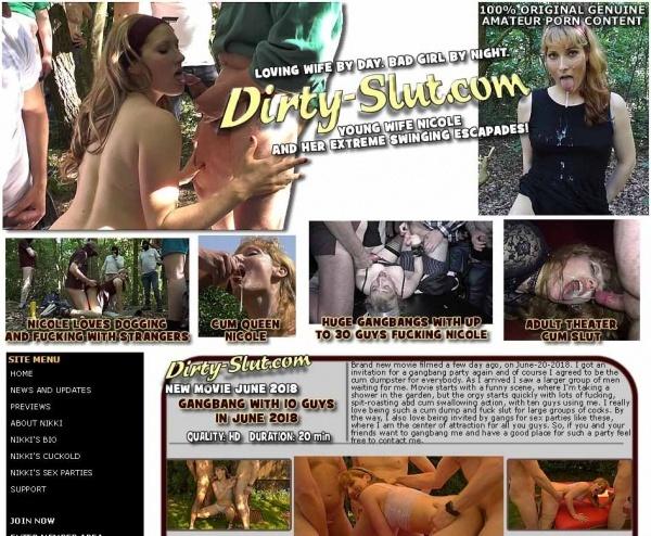Dirty-Slut.com - SITERIP