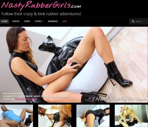 NastyRubberGirls.com - SITERIP