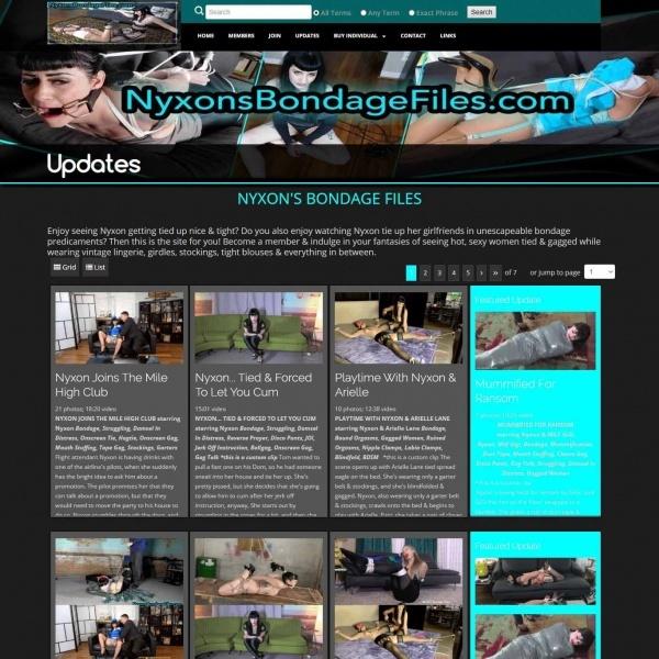 NyxonsBondageFiles.com - SITERIP