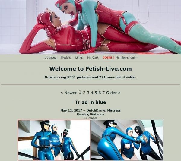 Fetish-Live.com - SITERIP