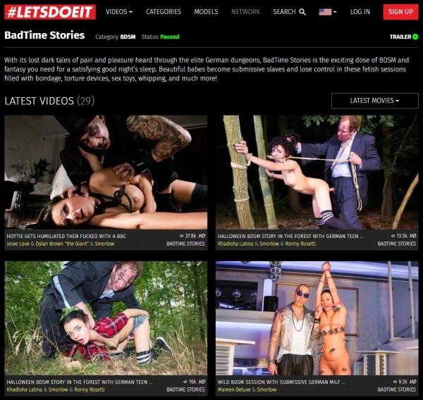 BadTimeStories.com - PornDoePremium.com - LetsDoeit.com - SITERIP