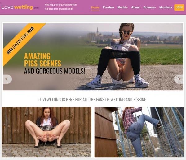 LoveWetting.com - SITERIP