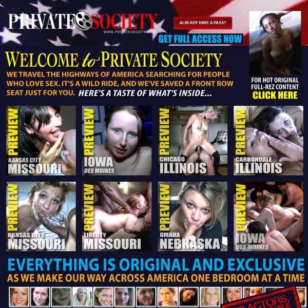 PrivateSociety.com - SITERIP