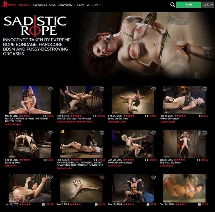 SadisticRope.com - Kink.com - SITERIP